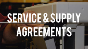 service & supply agreements